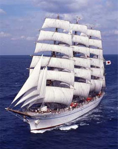 船の上で学ぶ一日。帆船「海王丸」海洋教室 令和2年2月1日(土) 10:00~15:30(09:30集合) 定員に達しましたので参加者の受付は終了 イメージ画像
