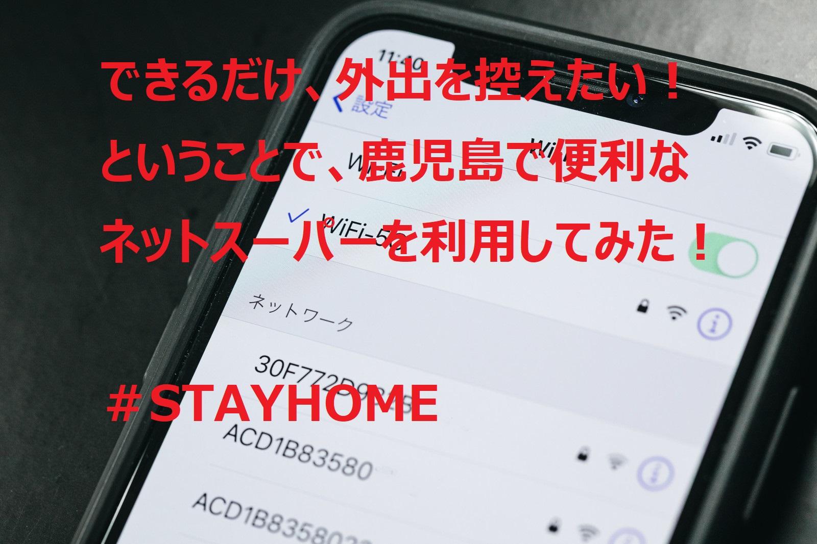 できるだけ、外出を控えたい!ということで、ネットスーパーを使ってみました! #STAYHOME イメージ画像