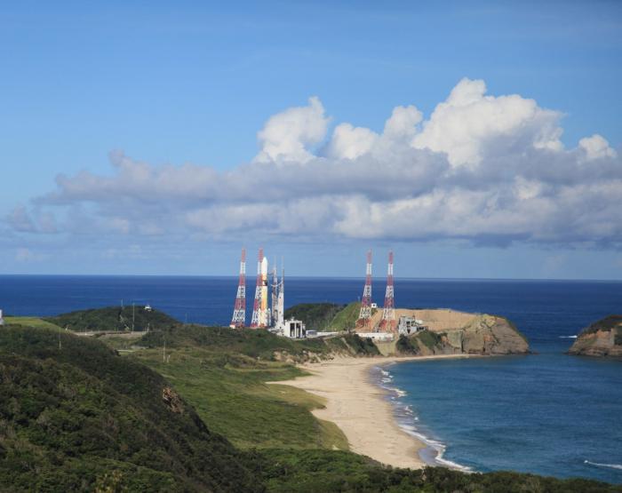 H-IIAロケット43号機の打上げ予定日時  2020年11月29日(日曜日)午後4時15分~午後6時15分 イメージ画像
