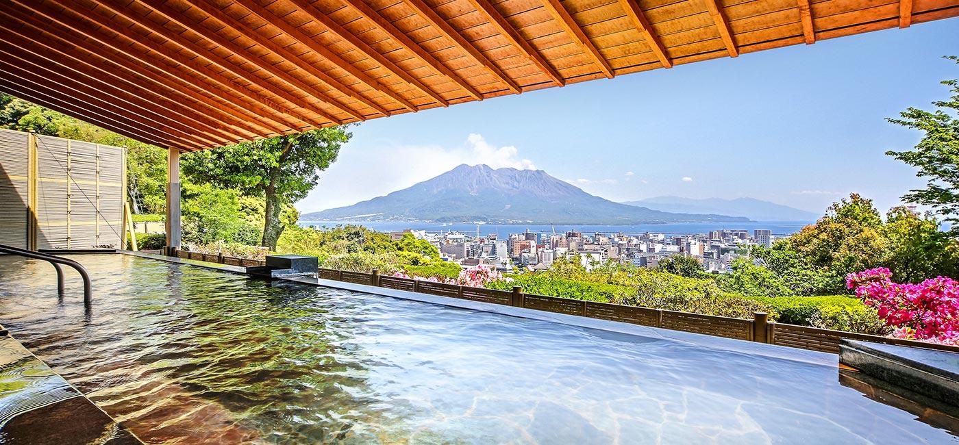 わくわくーぽんでSHIROYAMA HOTEL kagoshima・自然満喫‼絶景温泉と城山テイクアウトセレクションを味わう イメージ画像