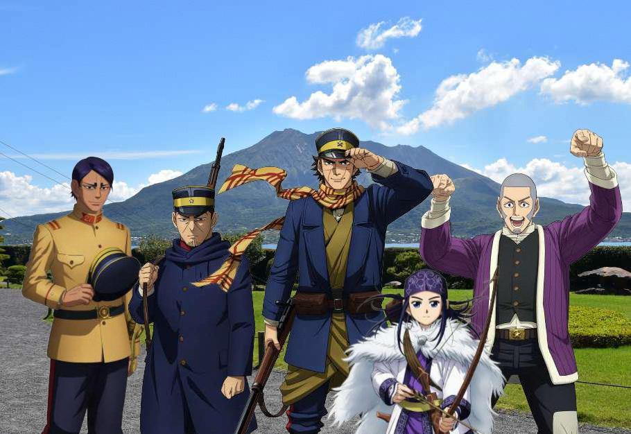 TVアニメ「ゴールデンカムイ」とのコラボイベント イメージ画像