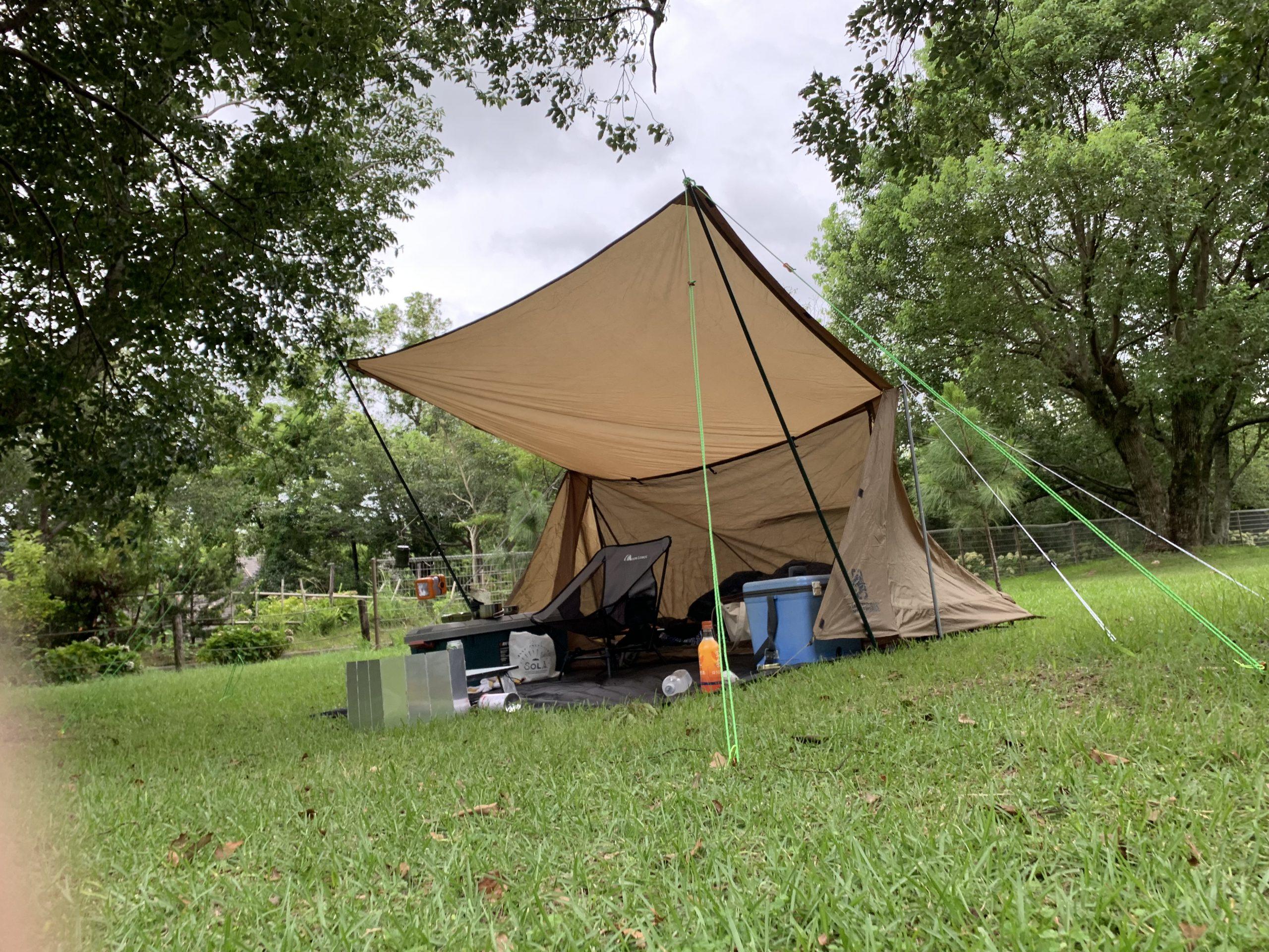 マンボウで鹿児島県内のキャンプ場は利用可能?不可? イメージ画像